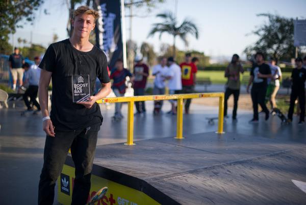 Boost the Bar Winner at adidas Skate Copa LA 2015