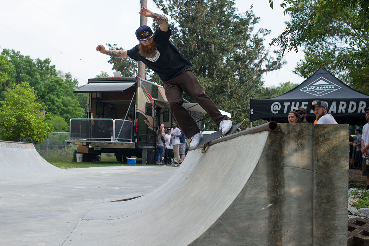 Feeble Grind at Tampa Bro 2015, The Boardr