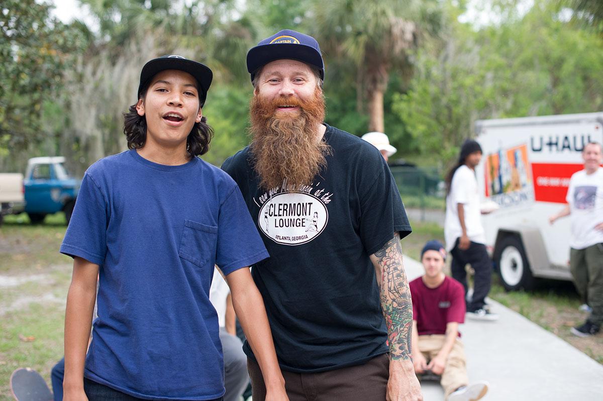 Louie and Big Al at Tampa Bro 2015