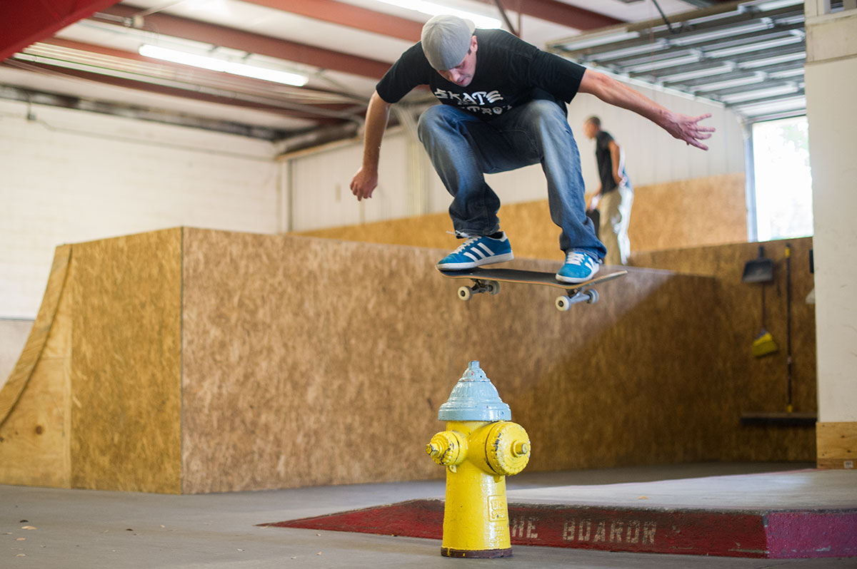 Joe Over the Hydrant on Frontside Grind Tuesdays