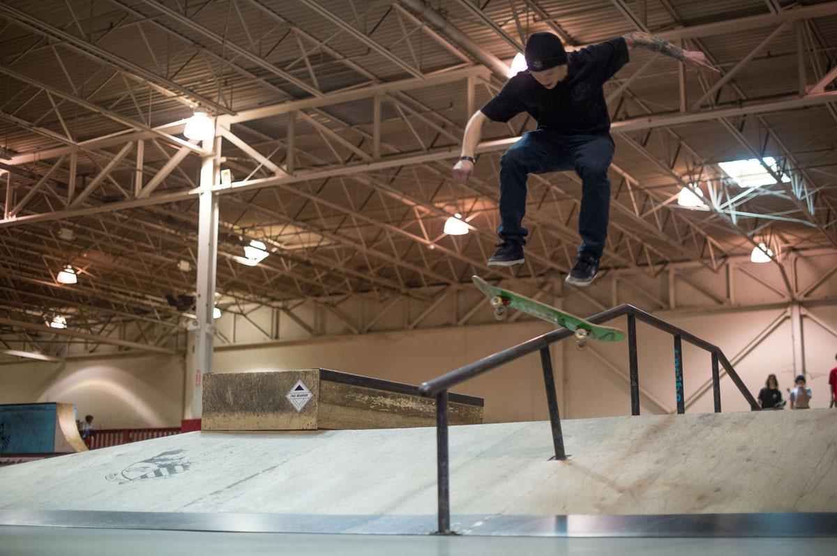 The Boardr Am Detroit Dustin Switch Heelflip Boardslide
