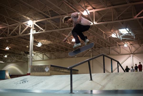 The Boardr Am Detroit Alex Hardflip Back Lip