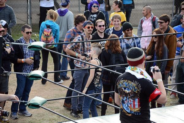Fun Fun Fun Fest 2013 Anarchy Championship Wrestling