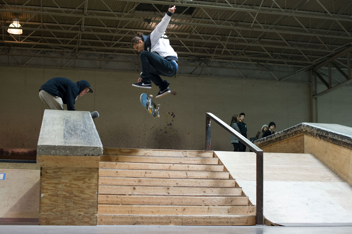 The Boardr Am Detroit Jereme Fakie Flip