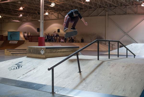 The Boardr Am Detroit Austin Kickflip