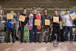 Your top six at The Boardr Am at Detroit stop.