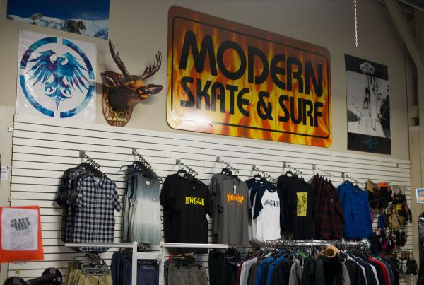 Modern Skatepark Shop in Detroit