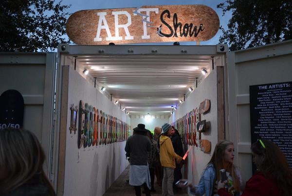 Fun Fun Fun Fest 2013 Art Show