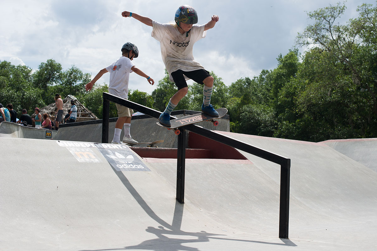 Boardslide at GFL New Smyrna 2015