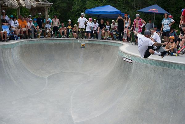 Frontside Ollie at New Smyrna 2015