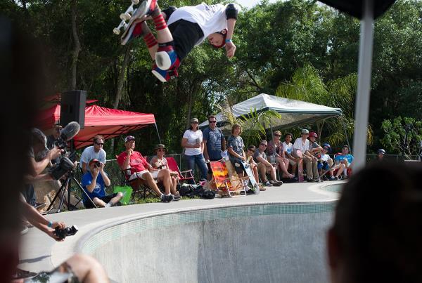 Backside Air at New Smyrna 2015