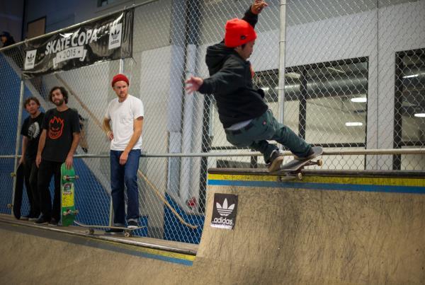 adidas Skate Copa Portland - Josh Paz - Front Rock