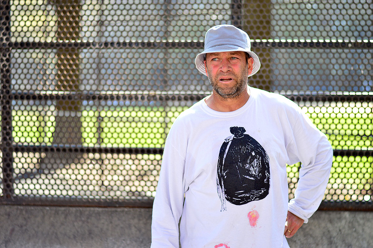 Mark Gonzales Chilling at The Boardr Am NYC 2015