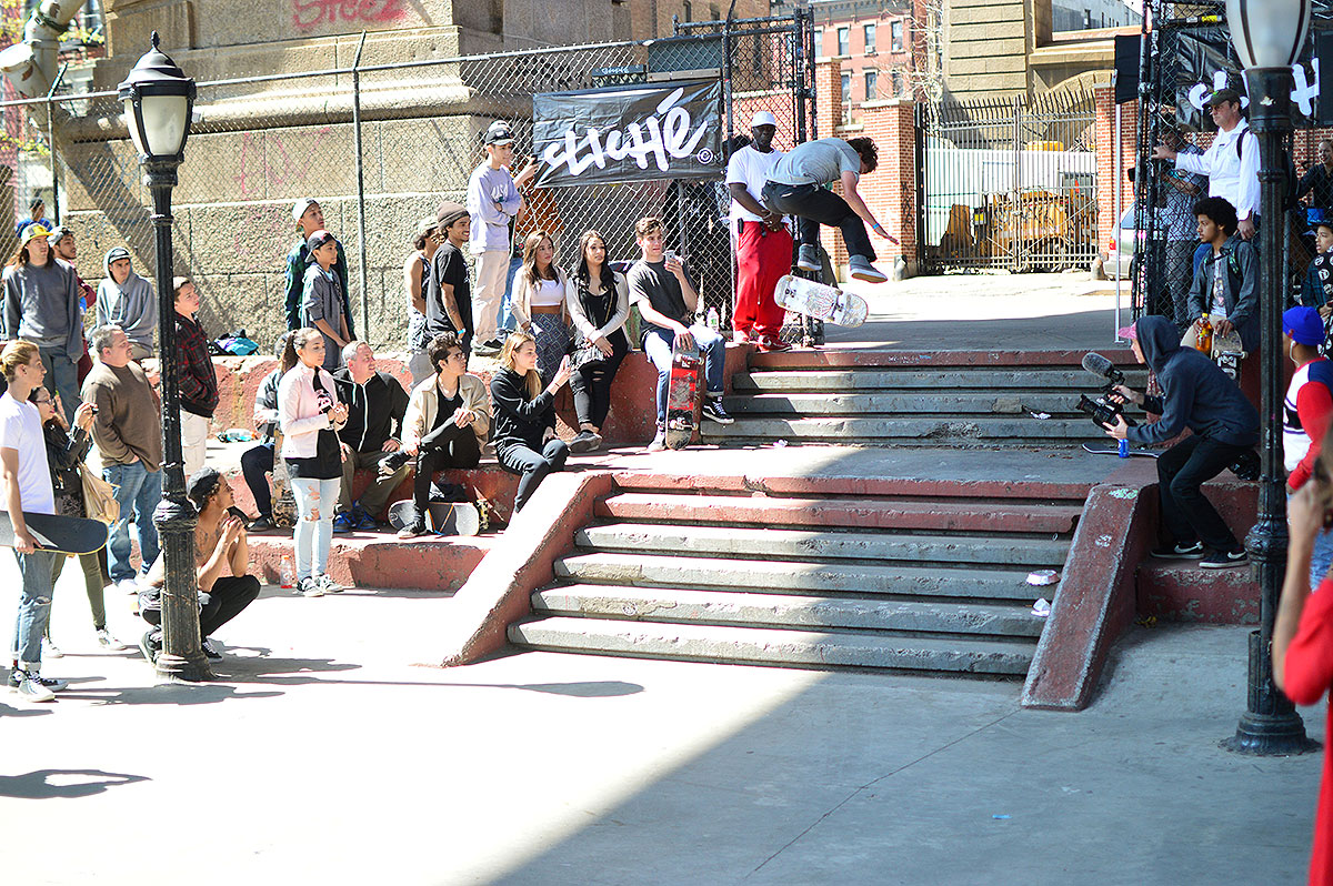 Yoshi Backside Flips at The Boardr Am NYC 2015