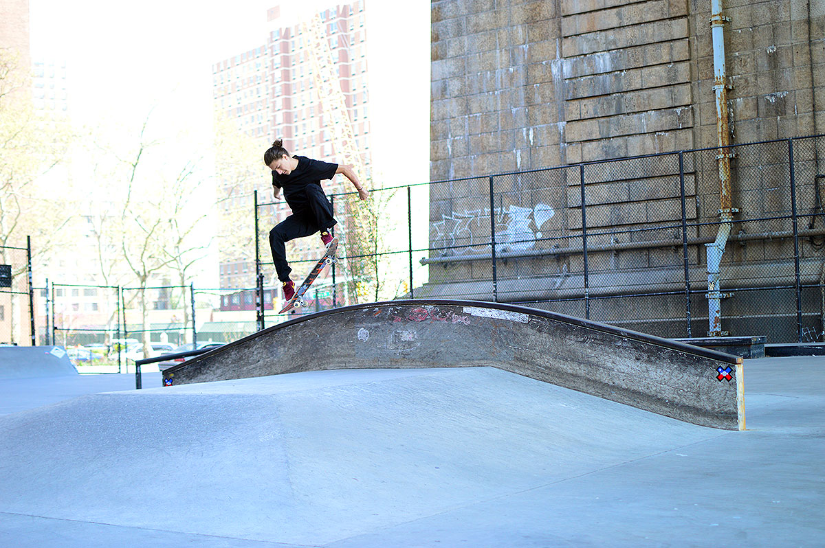 Jereme Knibbs Frontside 360 at The Boardr Am NYC 2015