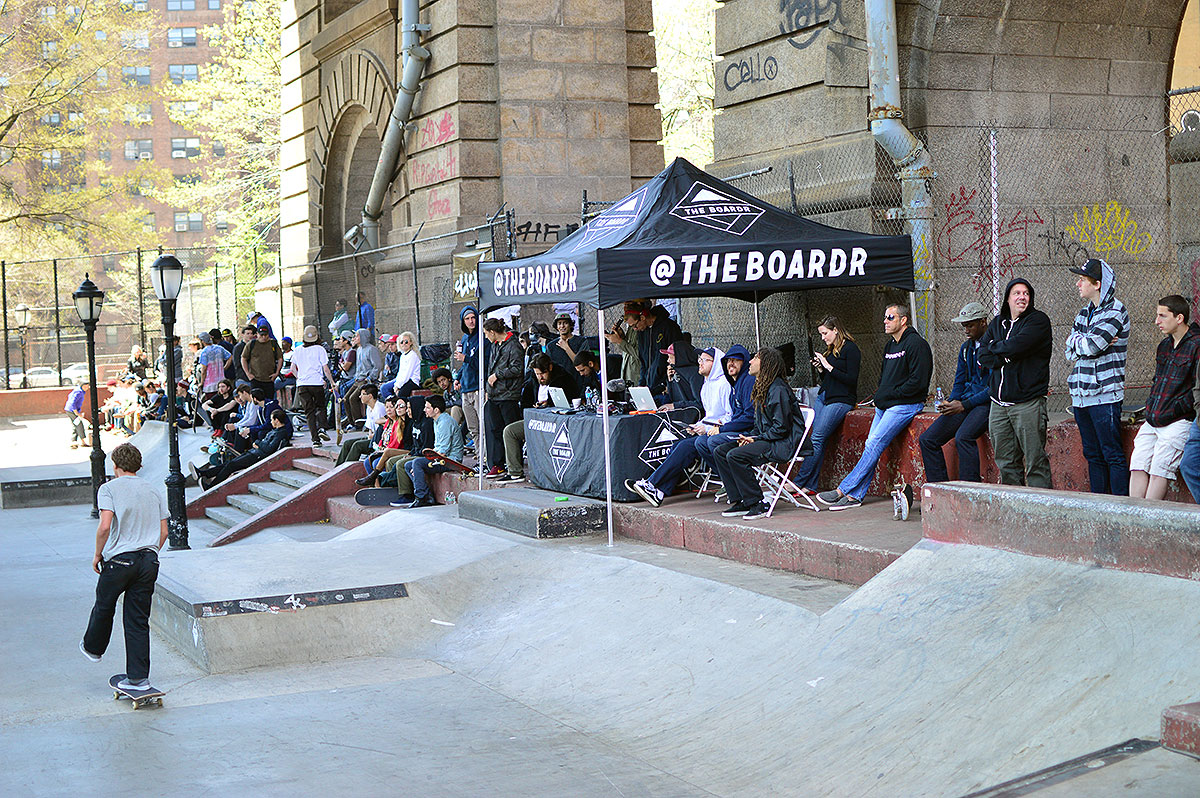 The Crowd at The Boardr Am NYC 2015