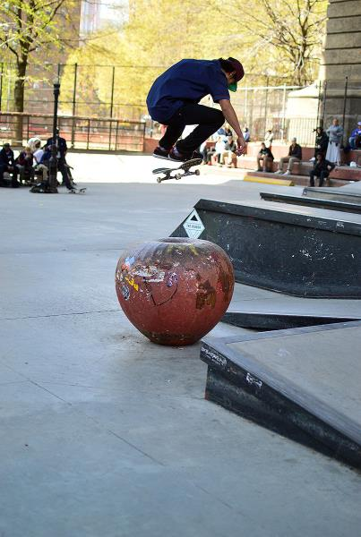 Pat Schaefer Switch Flip at The Boardr Am NYC 2015