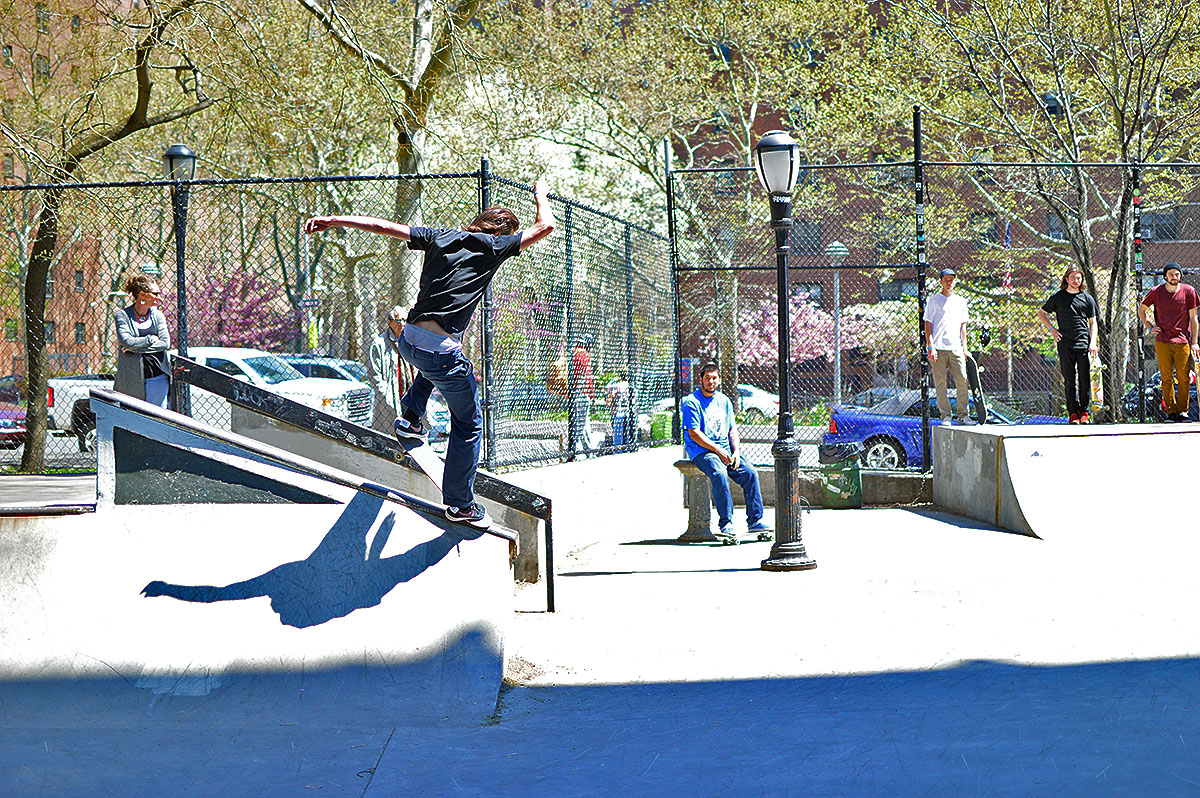 Chris Blake Nosegrind at The Boardr Am NYC 2015