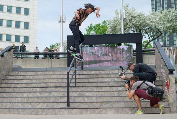 Back Smith at Hart Lines Detroit 2015