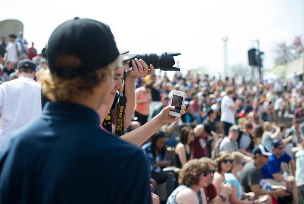Selfies at Hart Lines Detroit 2015
