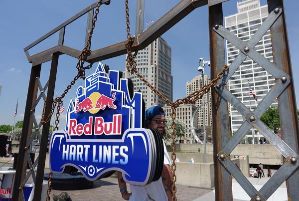 Brock at Red Bull Hart Lines Detroit 2015