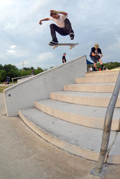 Carl Feliciano FS Flip at the Gainesville Store Grand Opening