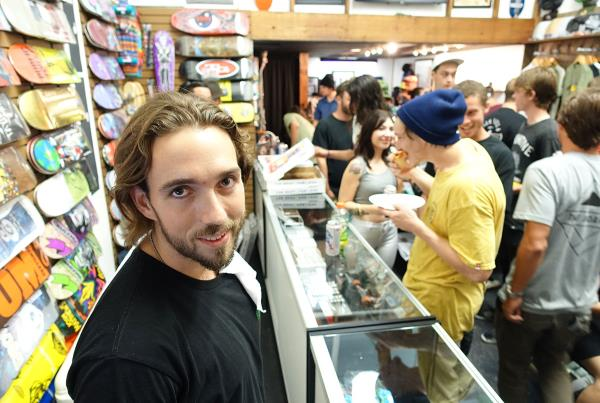 Jared at the Gainesville Store Grand Opening