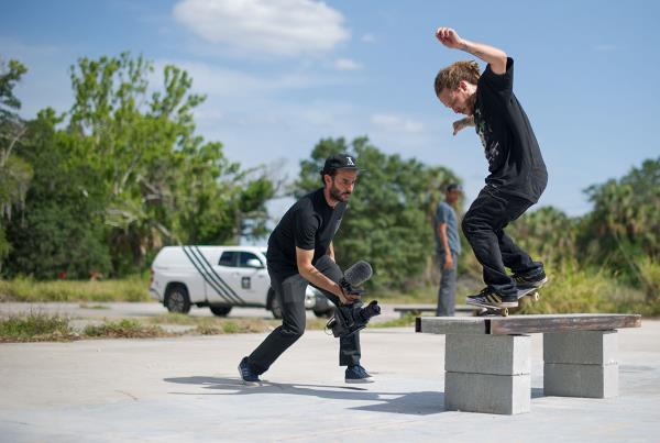 BSNG Levi's and Hellaclips DIY Tampa Skateboarding Spot Delivery