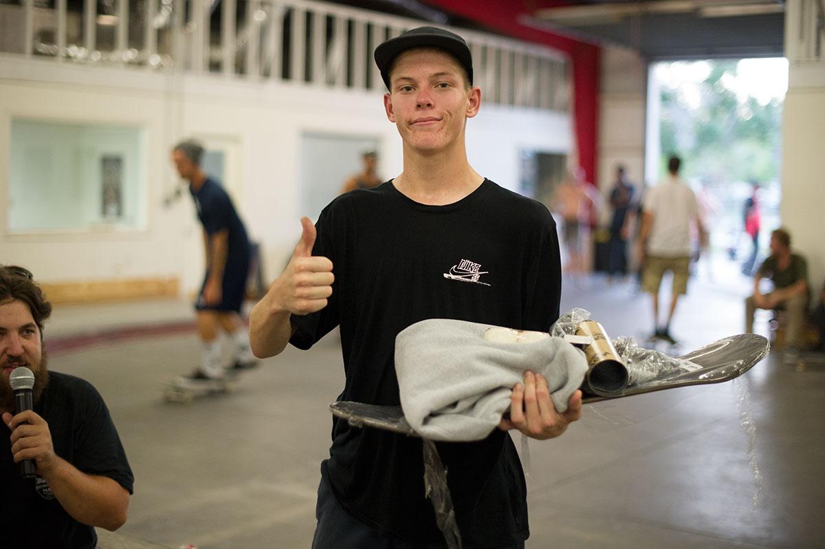 Jake at Levi's Bank to Ledge Skateboarding Spot