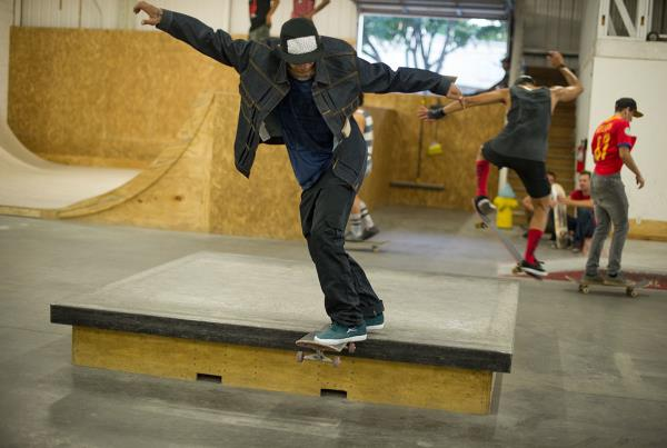 Canadian at Levi's Bank to Ledge Skateboarding Spot