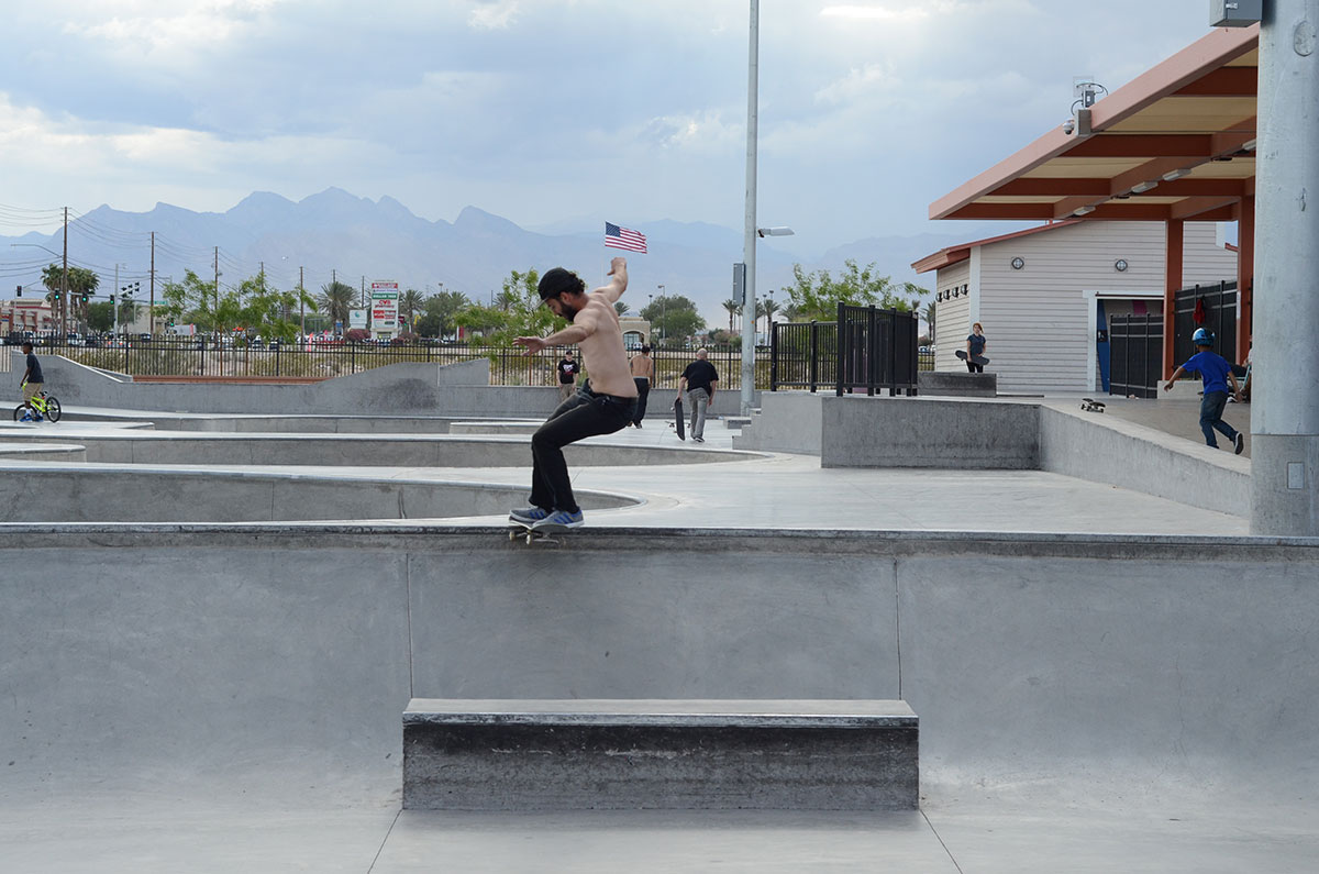 HiDefJoe Tailslide at The Boardr Am at Las Vegas