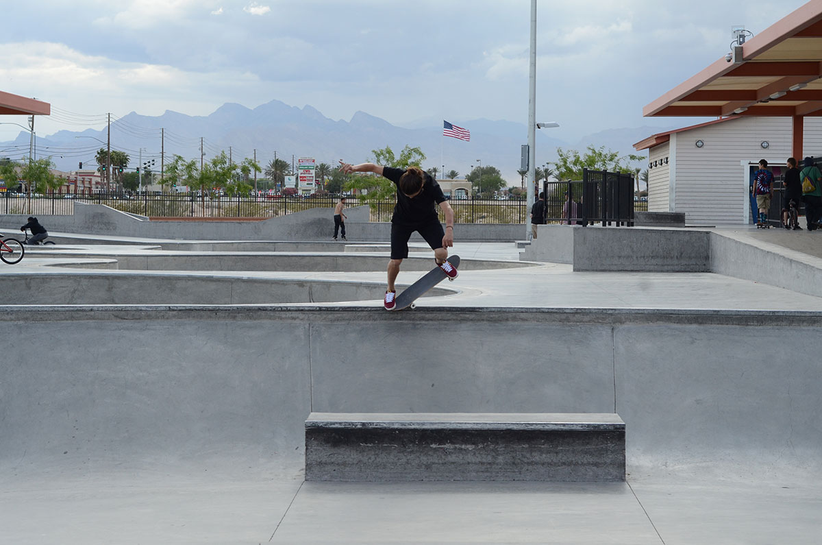 Jereme Overcrook at The Boardr Am at Las Vegas