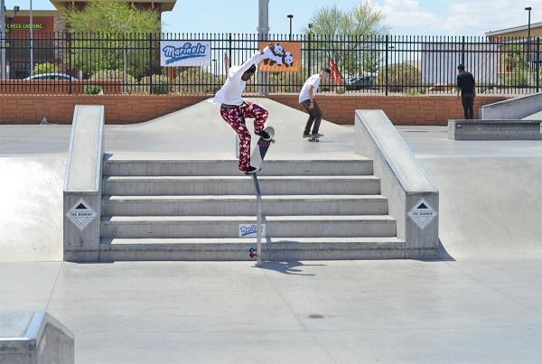 Aramis Hudson at The Boardr Am at Las Vegas