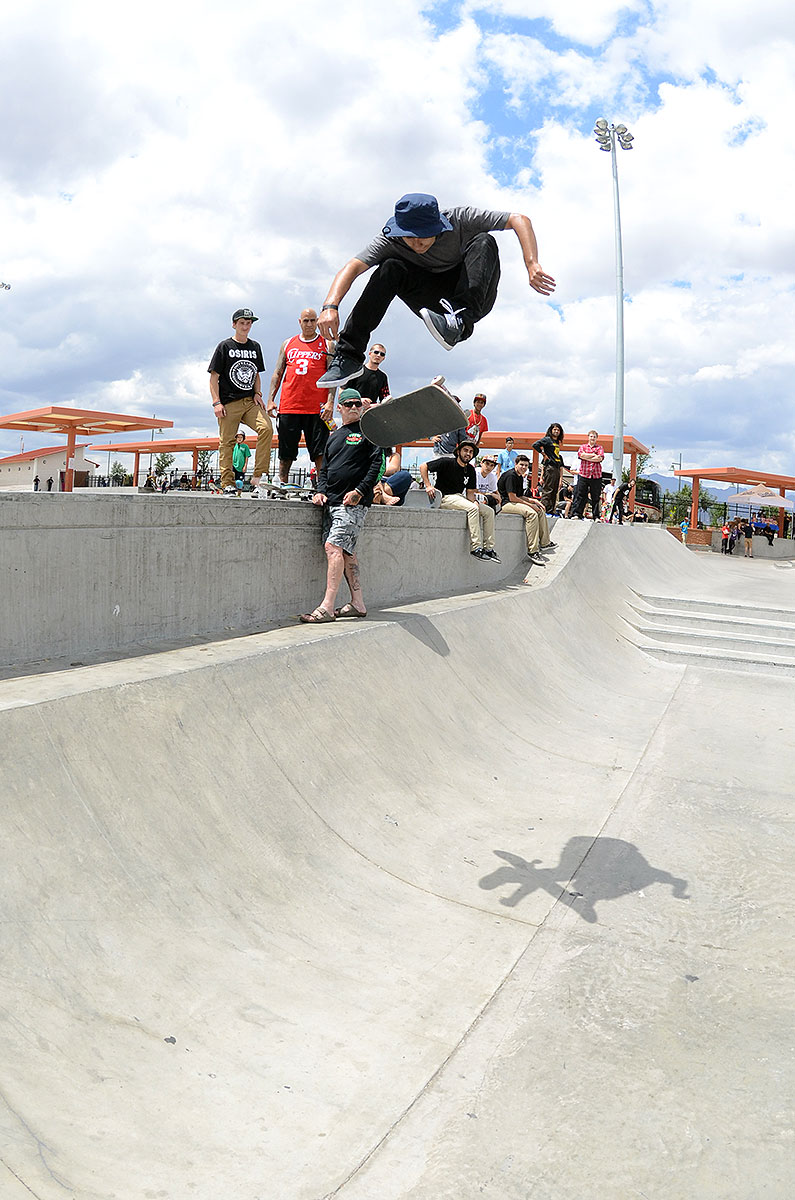 Enzo Varial Heel at The Boardr Am at Las Vegas