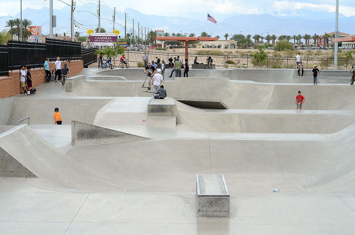 Craig Ranch Skatepark at The Boardr Am at Las Vegas