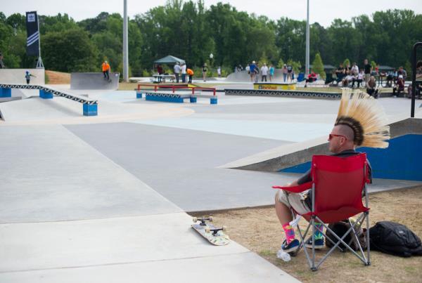 Bo's Dad at adidas Skate Copa at Altanta