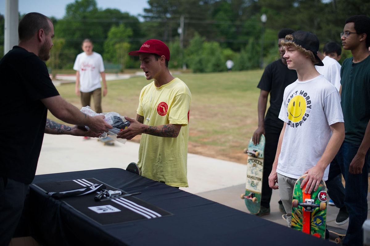 Bobby at adidas Skate Copa at Altanta