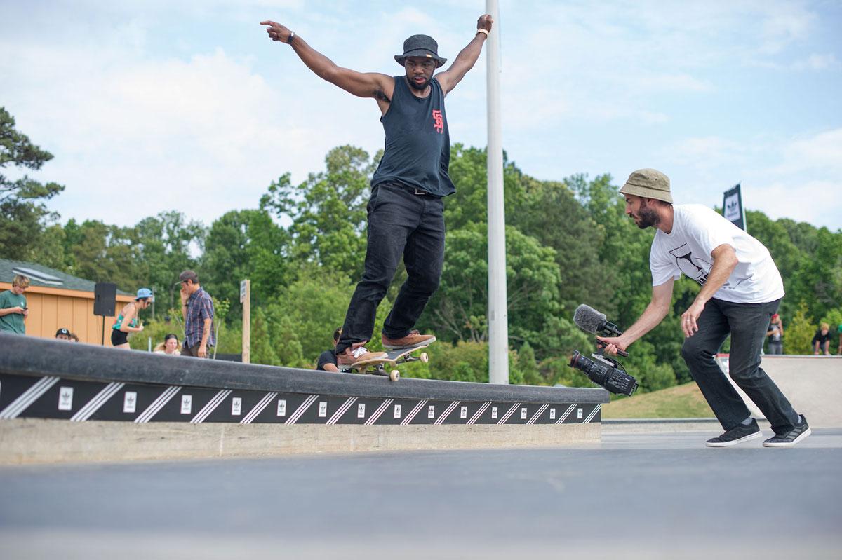 Terence BSNG at adidas Skate Copa at Altanta