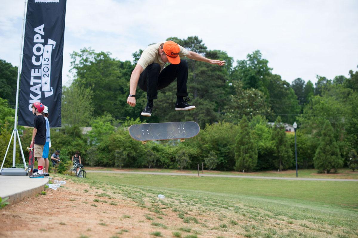 Grass Flicks at adidas Skate Copa at Altanta