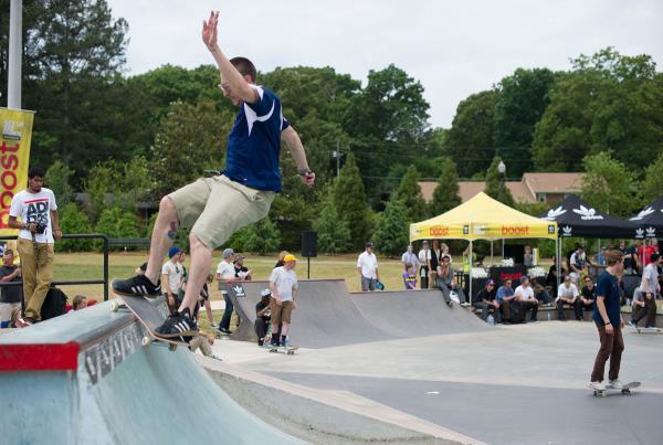 Jeremiah Babb at adidas Skate Copa at Altanta