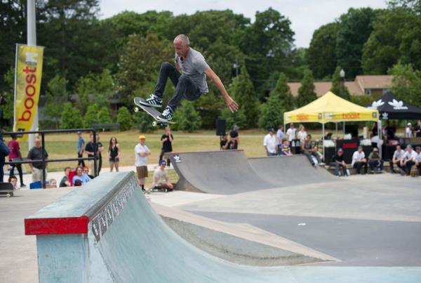 Pete at adidas Skate Copa at Altanta