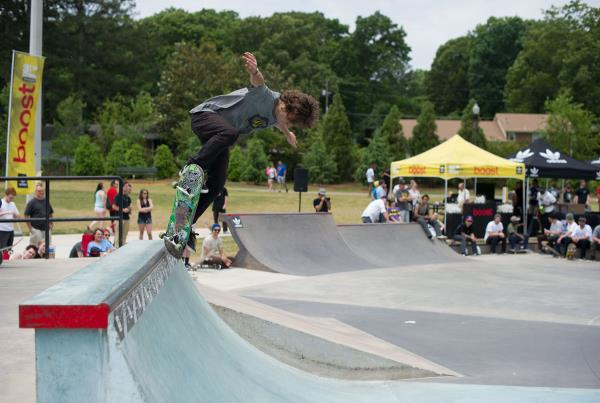 Justin Bergeaux at adidas Skate Copa at Altanta