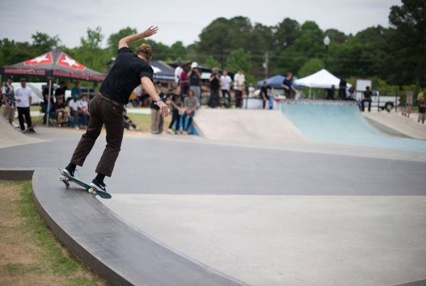 Rob Feeble at adidas Skate Copa at Altanta