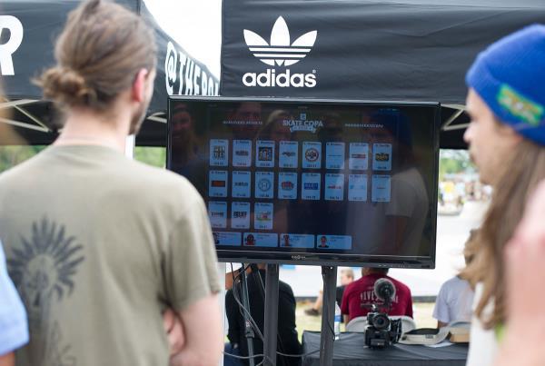 Scoring at adidas Skate Copa at Altanta