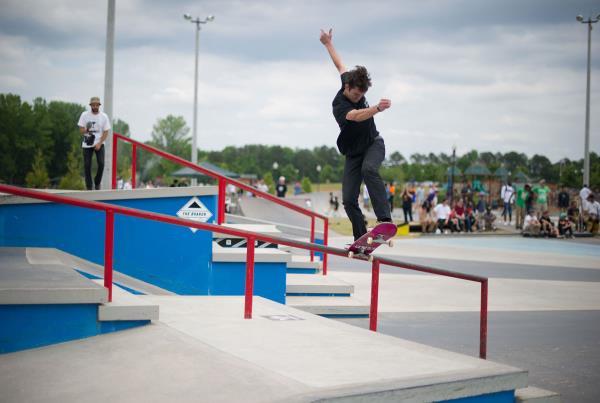 Chad at adidas Skate Copa at Altanta