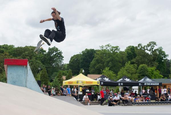Zeke Frontside Flip at adidas Skate Copa at Altanta