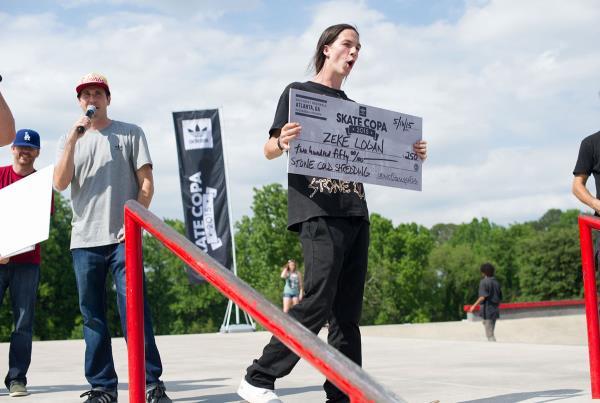 Zeke's Award at adidas Skate Copa at Altanta