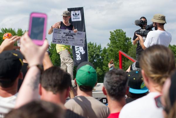 Yonis Award at adidas Skate Copa at Altanta