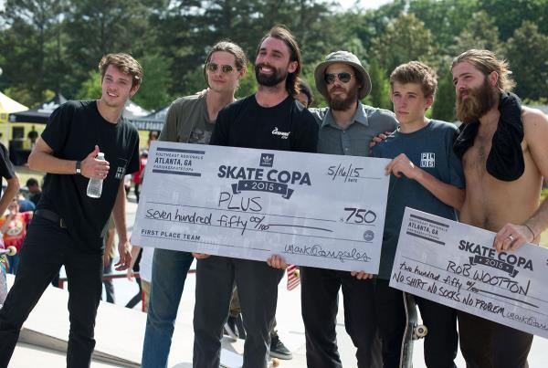 Plus Wins at adidas Skate Copa at Altanta