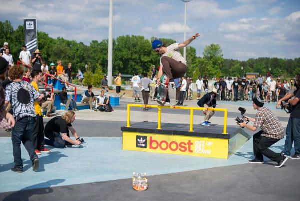 Boost the Bar at adidas Skate Copa at Altanta
